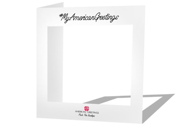 I am morgan h american greetings cmyk magazine 56 who are you passersby can pose within them then create a message that can be shared via text or on social media m4hsunfo